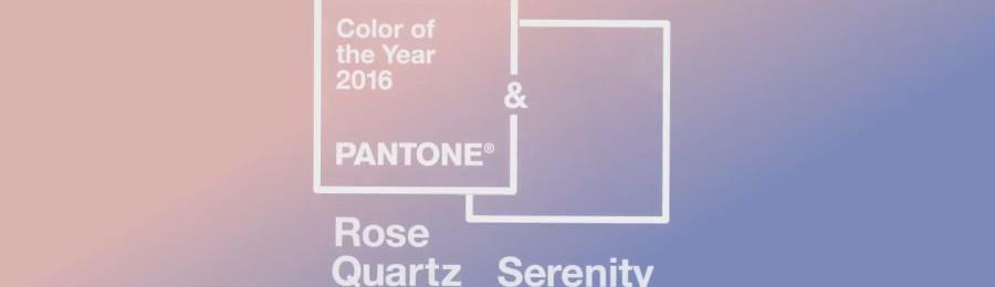 2016 Pantone Color(s) of the Year | Rose Quartz + Serenity